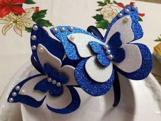 Aprende Como Hacer Estas Hermosas Mariposas De Foami Mimundomanual Manualidades Artesanias De Mariposa Moldes Para Hacer Mariposas
