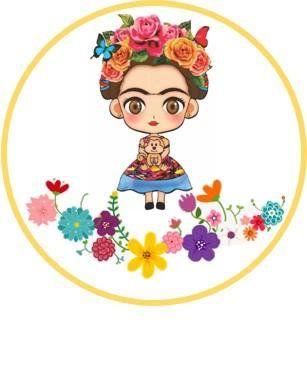 Instant Download Frida Kahlo Cupcake Topper Or Tags Frida Kahlo Birthday Frida Kahlo Party Pop Art Wallpaper Frida Kahlo Party Decoration Frida Kahlo Cartoon