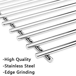 Gftime 49 5cm 7528 Grill Grates For Weber Genesis 300 E310 E320 E330 S310 S320 S330 Stainless Steel Cooking Grids Replacement In 2021 Grill Grates Gas Grill Stainless