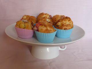 Smartie Cakes Cooked In The Halogen Oven Recept Kakor