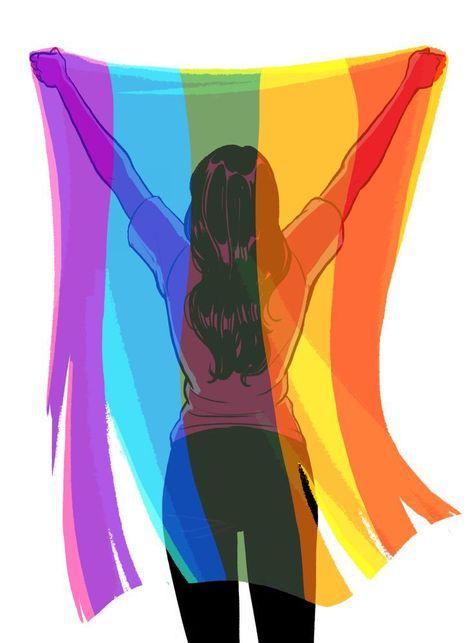 LGBTQIA+ Pride Flag