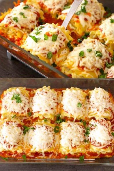 Zucchini Lasagna Roll Ups Christmas Dinner Easy Kraft Recipes Easy Vegetarian Lasagna Vegetarian Lasagna Recipe Vegetarian Lasagna Roll Ups