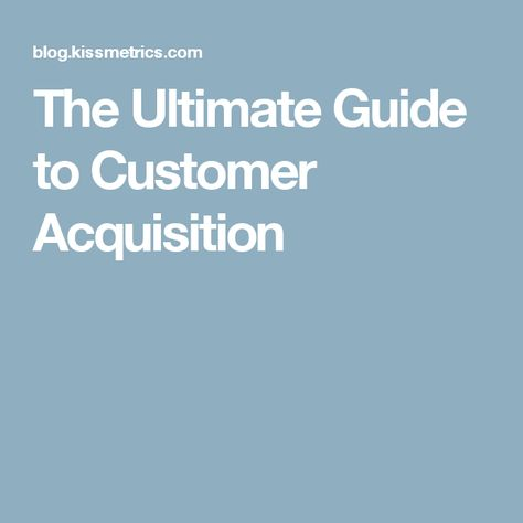 Customer Acquisition Strategy For Startups  The Complete Guide