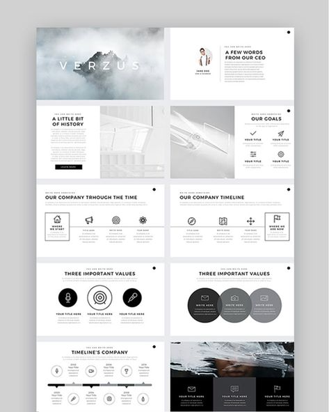 25+ Inspirational PowerPoint PPT Presentation Designs Examples (2021)