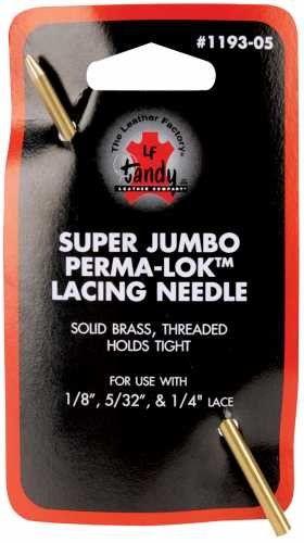 Leather Lacing Needle Tandy Leather Perma-Lok Super Jumbo Paracord