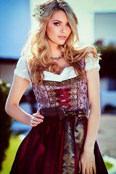 4 to 32 1174-3 pc Dirndl Dress Trachten Oktoberfest !!PLUS SIZE!