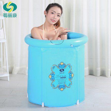 Home Improvement Portable Bathtub Plastic Bathtub Inflatable Bathtub
