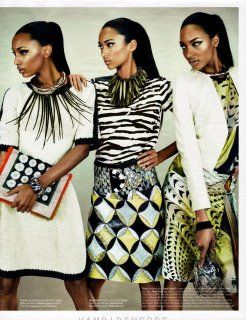 Elegance In African Prints and Textures.