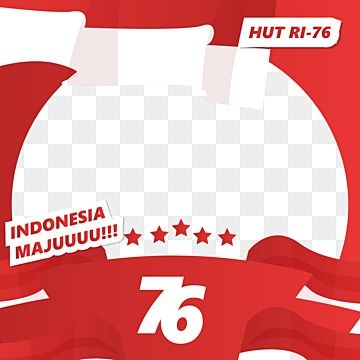 Clipart Twibbon Hut Ri 76 Indonesian Independence Day Twibbon 17 Agustus 17 Agustus Indonesian Independence Day Png And Vector With Transparent Background Fo In 2021 Clip Art Indonesian Independence Indonesia Independence Day