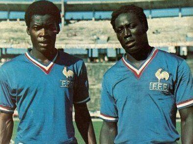 Adams e Trésor: la Garde Noire della nazionale francese degli anni '70