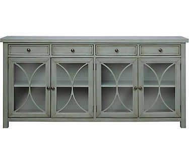 Ridgecrest 72 Console Blue Tv Stand Living Room Tv Stand White