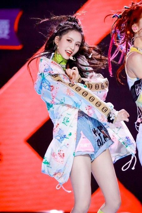 Liu Xiening Produce Camp 2020 Sally Gugudan Beautiful Chinese Women Kpop Girls Ulzzang Fashion