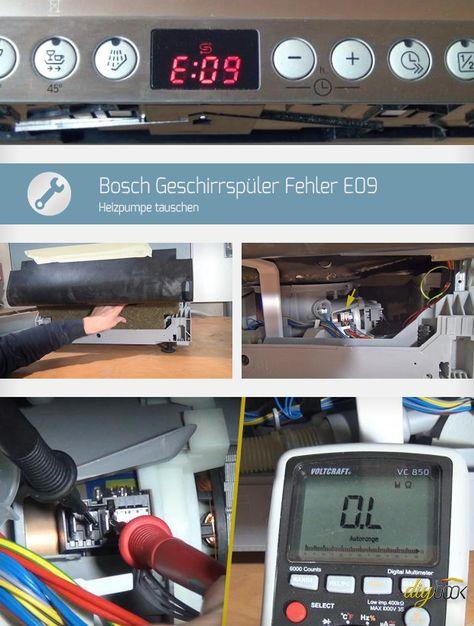 Siemens geschirrspüler fehler e09
