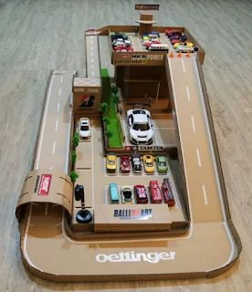 Cardboard creations: Racetrack