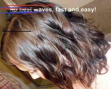 Pin By Joannagertrudiskyrstinfz On Hairstyle Hair Without Heat Short Hair Waves Hair Waves