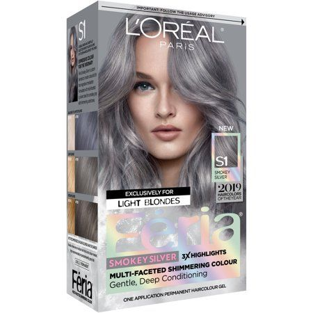 Beauty With Images Silver Hair Dye Permanent Hair Color