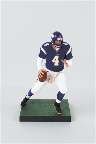 san francisco 084a2 c33c3 Minnesota Vikings Brett Favre McFarlane Figurine | Minnesota ...