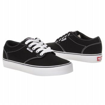 womens black and white vans