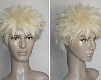 Bakugou Katsuki Cosplay Boku No Hero Acabemia Cosplay Wigs