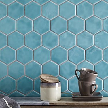Onda Wall Floor Tiles Fired Earth Hexagon Wall Tiles Kitchen Splashback Tiles Shower Floor Tile