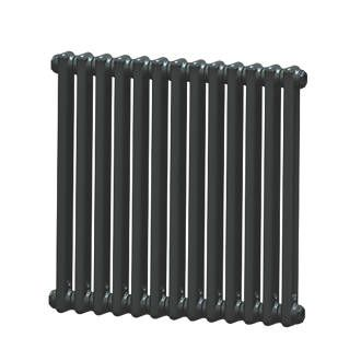 Acova 2 Column Horizontal Radiator 600 X 628mm Volcanic Horizontal Radiators Column Radiators Steel Columns