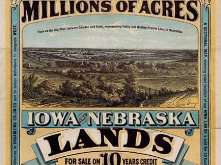 This website had a brief description of the Homestead Act and how it was motivation for those to move out west.
