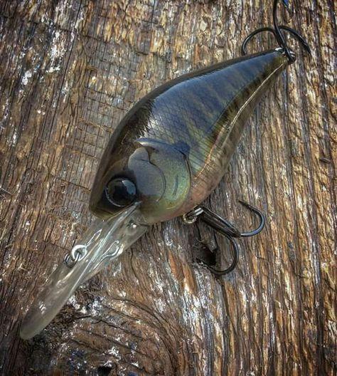 CUSTOM PAINTED S Crank KO Crank appâts de pêche bass pike Minnow Shad Craw