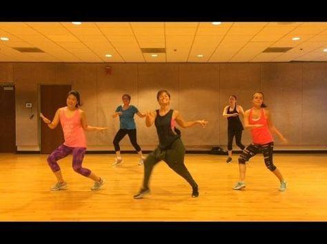 Happy Pharrell Dance Fitness Workout Valeo Club Cardio Jive Great Cardio Jive With Easy To Fol Zumba Workout Videos Aerobics Workout Dance Workout Videos