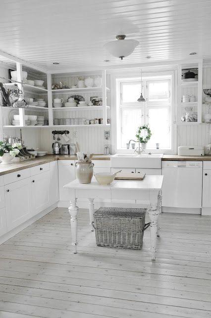 Vicky\'s Home: Una cocina sencilla y cálida de estilo vintage ...
