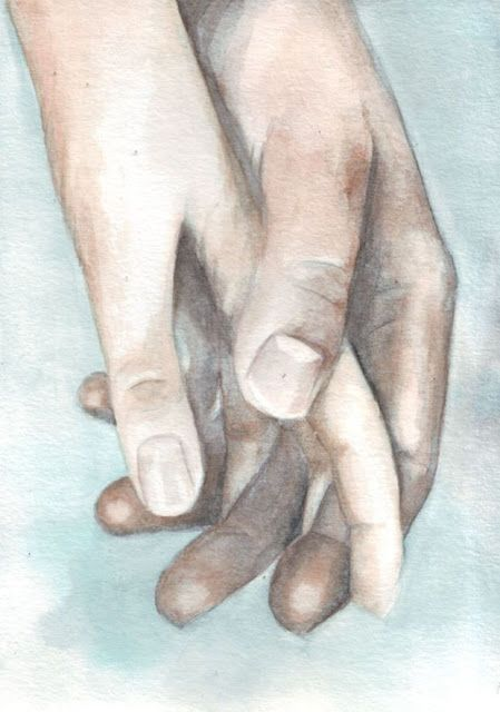 50 Loving Drawings Art That Shows The Couple Love Watercolor