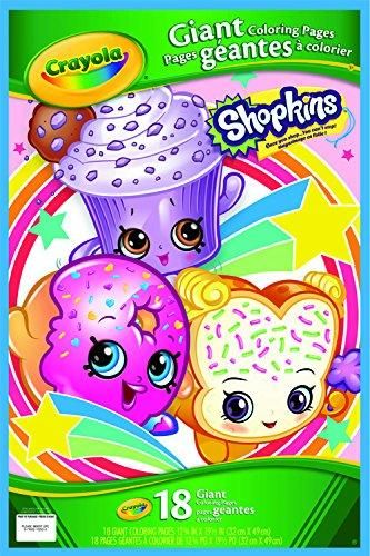 Crayola Shopkins Giant Coloring Pages Coloring Books Crayola Color