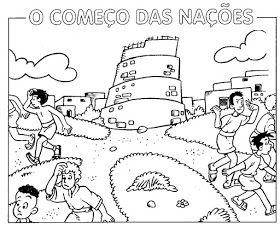 Torre De Babel O Inicio Das Nacoes Base Biblica Genesis 11 1 9