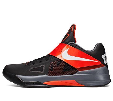 Kevin Durant Trey 5 Team Orange Grey Shoes | Kevin Durant Trey 5 |  Pinterest | Kevin durant