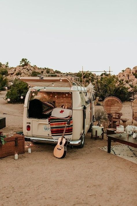 Bohemian road trip elopement in Joshua Tree Bohemian road trip elopement in Joshua Tree Wolkswagen Van, Van Vw, Summer Aesthetic, Travel Aesthetic, Boho Aesthetic, Desert Aesthetic, Combi Hippie, Vw Hippie Van, Hippie Vibes