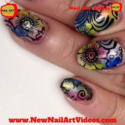 12 Beste Afbeeldingen Van New Nail Art Designs