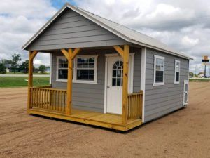 Custom Finished Cabins By Enterprise Center 979 542 4330 Best Tiny House Cabin Portable Buildings