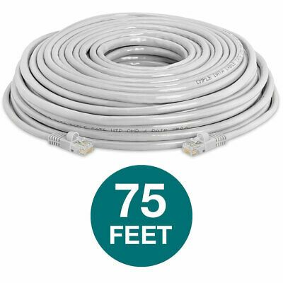 6 ft feet Cat5 Cable CAT5E RJ45 LAN Network Ethernet Router Switch Patch Cord