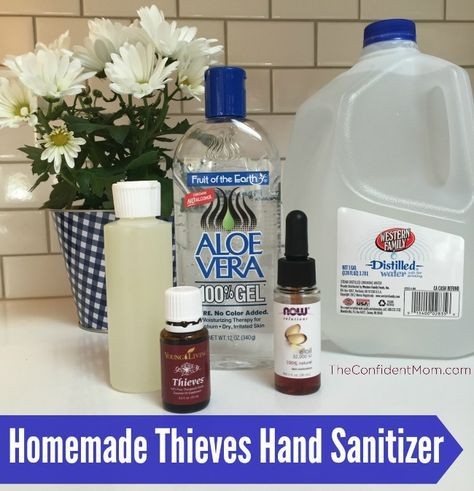 Thieves Hand Sanitizer Hand Sanitizer Skin Hand