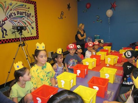 512e4754766 Super Mario party hats. Princess Peach crowns for girls and Mario   Luigi  hats for