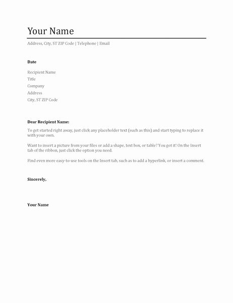 Cover Letter And Resume Template Best Of Resume Cover Letter