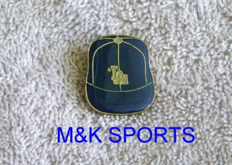 Vintage Los Angeles Dodgers Baseball Cap Pin Old Logo Ex Nm Condition Free Ship Los Angeles Dodgers Baseball Dodgers Baseball Old Logo