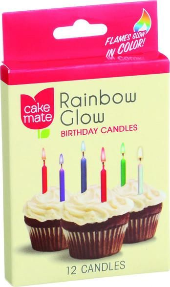 Cake Mate Birthday Party Candles