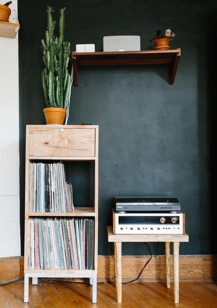 Put Your Records On - The Ultimate Design Couple's 800-Square-Foot Home - Photos