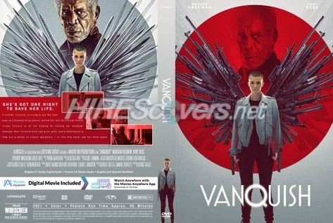 DVD Cover Custom DVD covers BluRay label movie art - DVD CUSTOM Covers - V / Vanquish (2021)