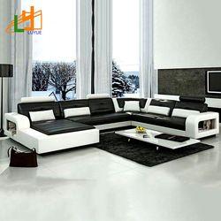 Source Factory Wholesale Fabric U Shaped Sectional Sofa Modern