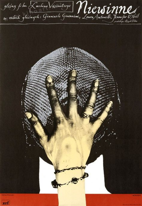 The Innocent (Luchino Visconti, 1976) Polish design by Andrzej Klimowski