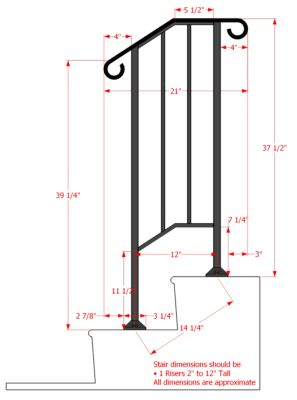 Details About Iron X Handrail Picket 1 Railing Rail Fits 1 Or 2