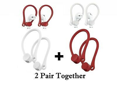 Buvo 2pair Airpod Ear Hooks For Apple Airpods Earphones Holder Fitness Activities Fall Sets