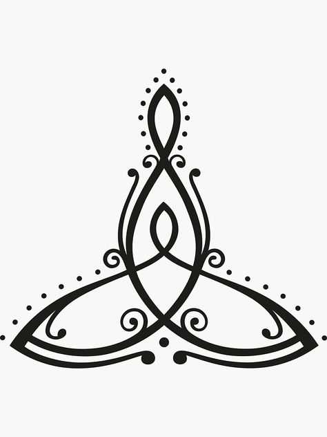 An Celtic symbol, which stands for the mother with her child. A sign of deep connectedness and eternal love. Great gift for Mothers Day. Mother Tattoos For Children, Baby Name Tattoos, Mother Daughter Tattoos, Tattoos For Daughters, Mom Tattoos, Print Tattoos, Arrow Tattoos, Symbol For Family Tattoo, Tattoo For Son