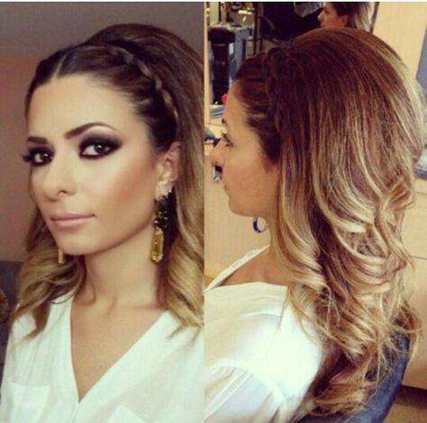 Big Hair Cabello Y Belleza Peinado Cabello Largo Peinados Con Cabello Suelto